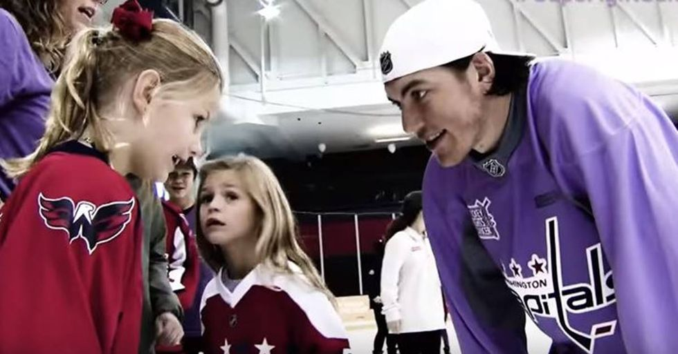 T.J. Oshie's 'Good Luck Charm' In The Stanley Cup Finals Is A 10-Year-Old Girl
