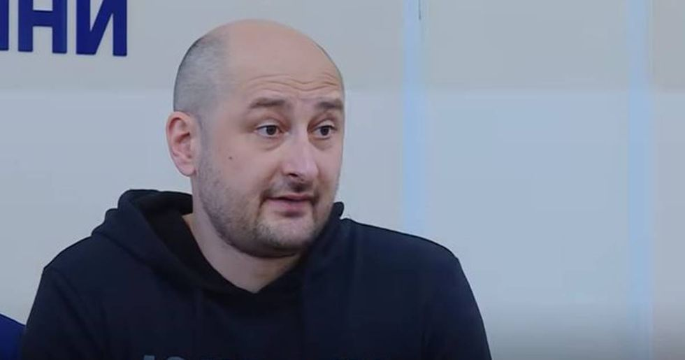 After Reports Of His Murder, Russian Journalist Shows Up At A Press Conference Alive And Well