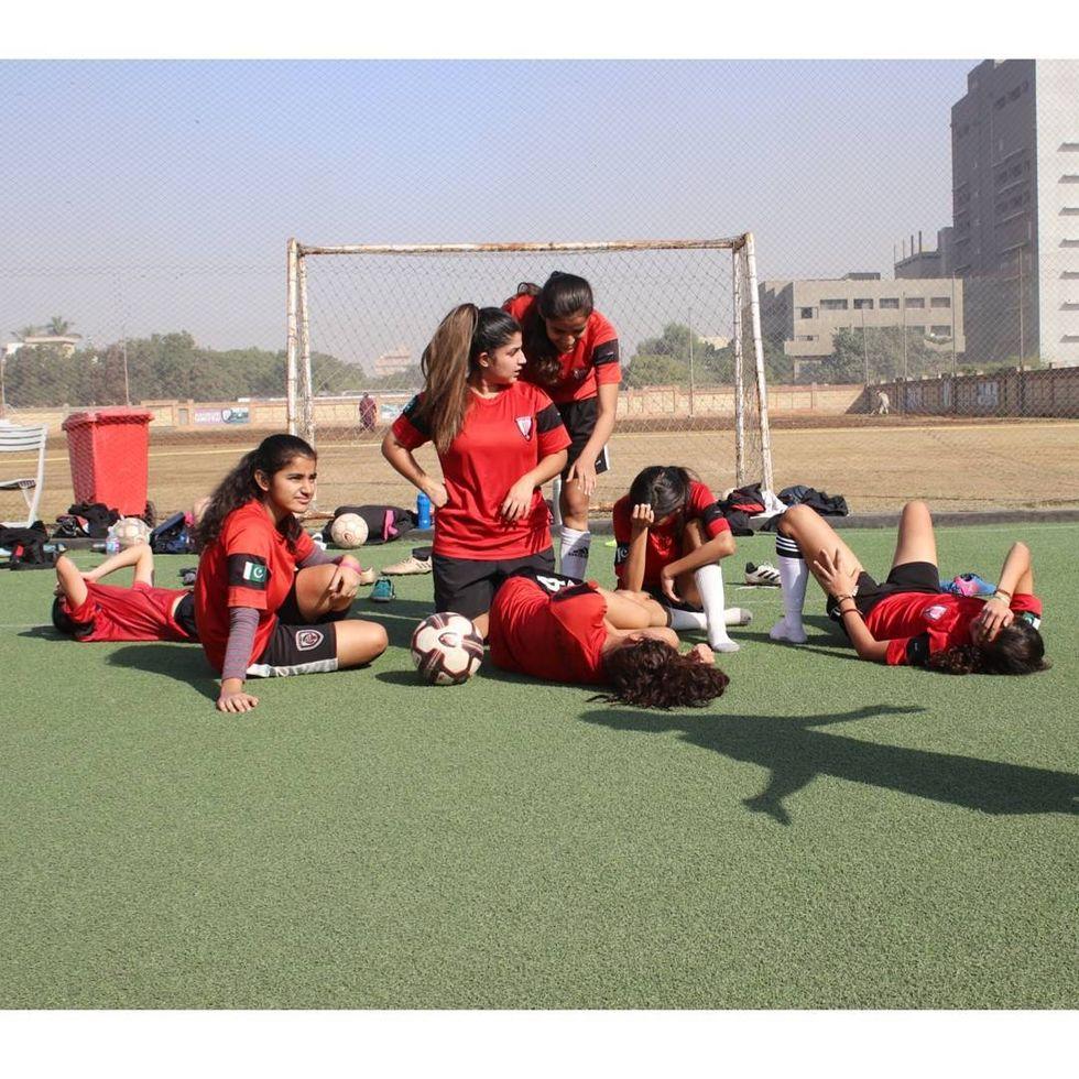 Meet The Woman Behind A Groundbreaking Pakistani Girls Soccer League