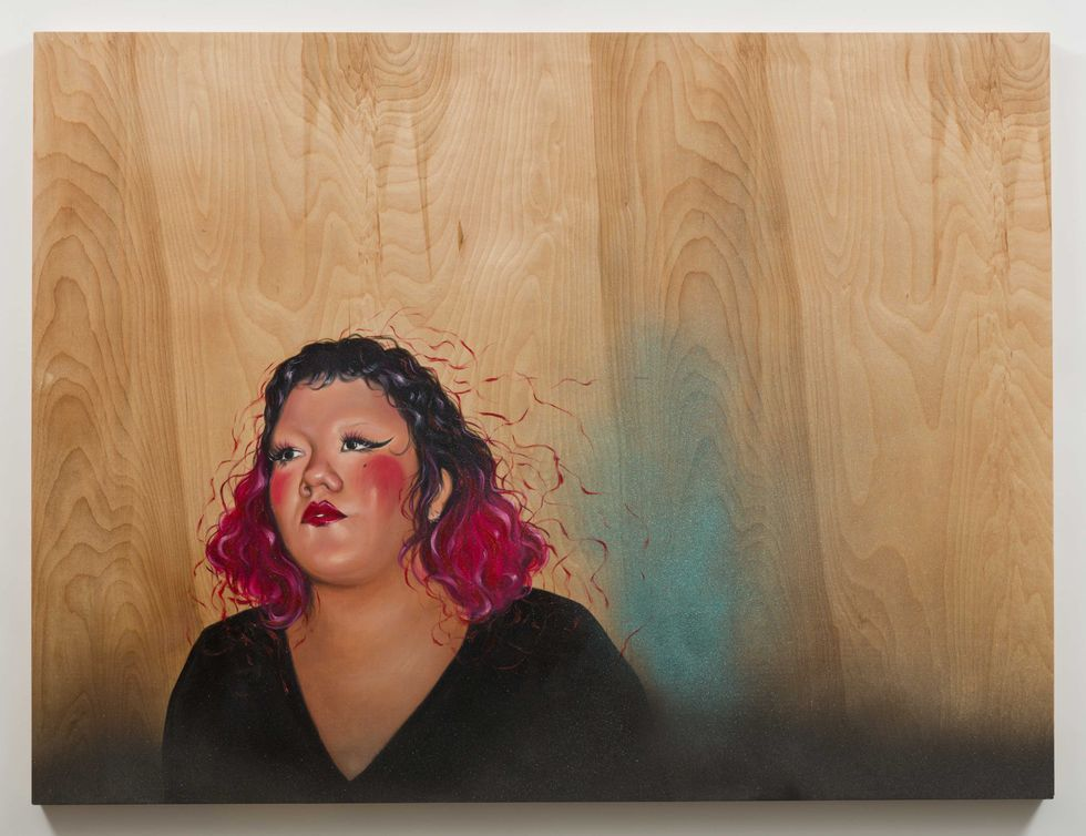 This Artist Saw A Lack Of Diversity On Gallery Walls. So She Painted Portraits Of Her Queer And Latinx Friends