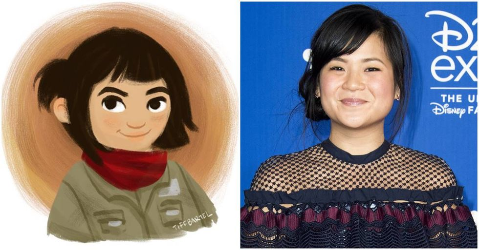 After 'Star Wars' Actress Kelly Marie Tran Was Bullied Online, Fans Struck Back With Beautiful Artwork