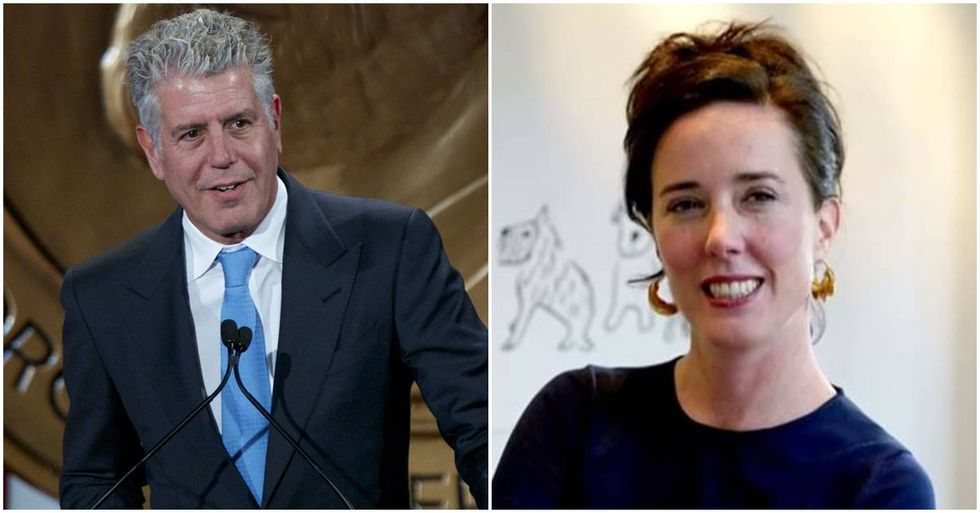 The Tragic Deaths Of Anthony Bourdain And Kate Spade Highlight A Disturbing Uptick In Suicides
