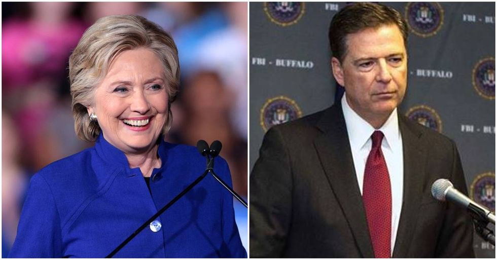 Hillary Clinton Had The Perfect Response To The News James Comey Used A Personal Email Account To Conduct FBI Business
