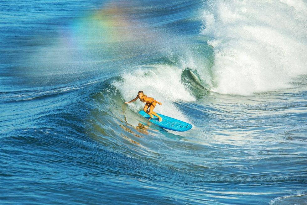 Professional Surfer Morgan Sliff Makes Waves in Male-Dominated Waters