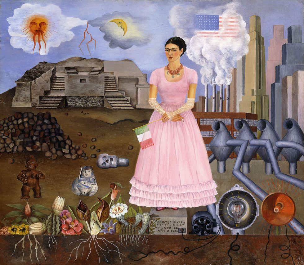 Frida Kahlo Is An Enduring Inspiration For Women Of Color, The Disabled Community, And All Humans
