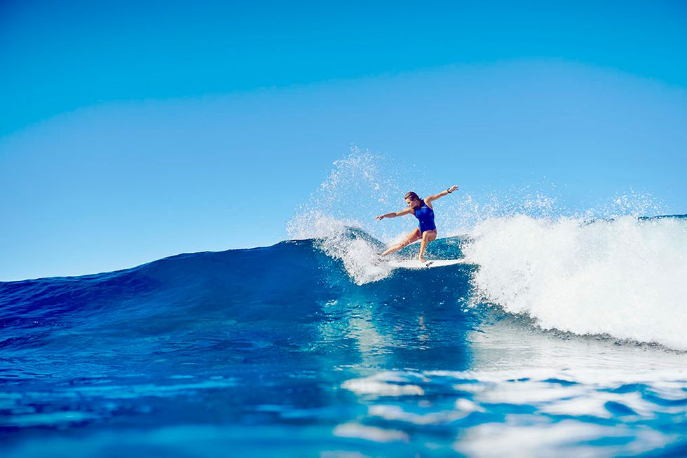 Surfer, New Mom, And Philanthropist Alana Blanchard Wants To Help Young Female Surfers Realize Their Dreams