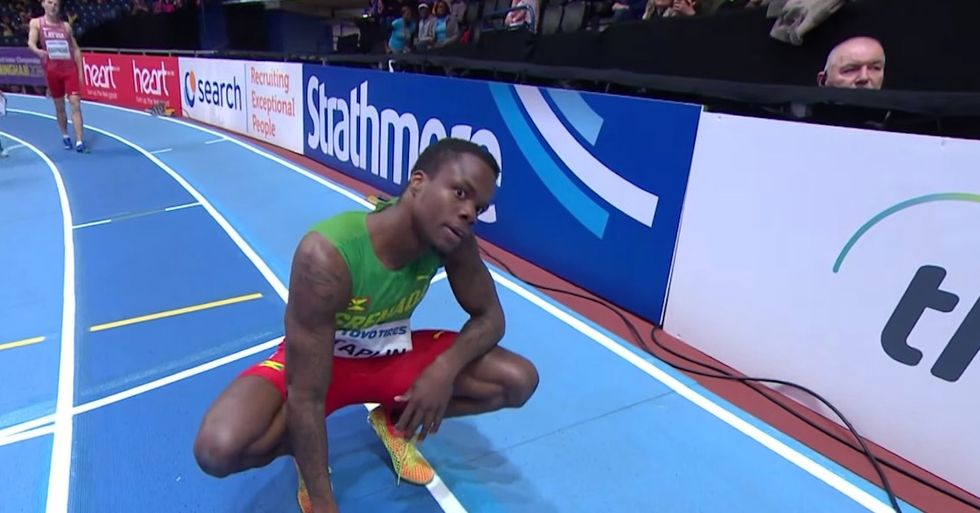 The Bizarre Track Event That Left Every Runner Disqualified
