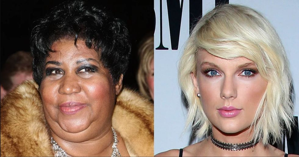 Aretha Franklin's Shade Towards Taylor Swift Belongs In The Rock And Roll Hall Of Fame