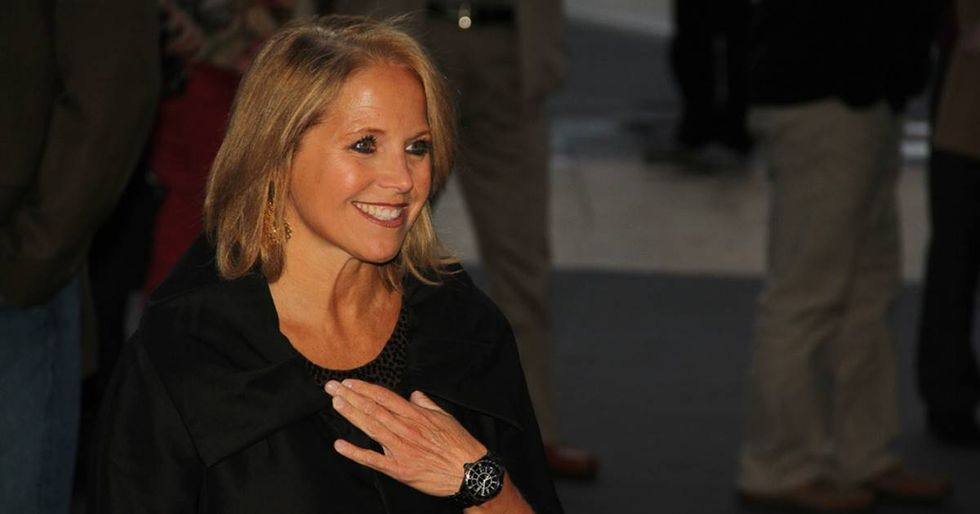 Katie Couric Calls Attention To Snapchat Dysmorphia By Posting A Filter and Makeup-Free Selfie