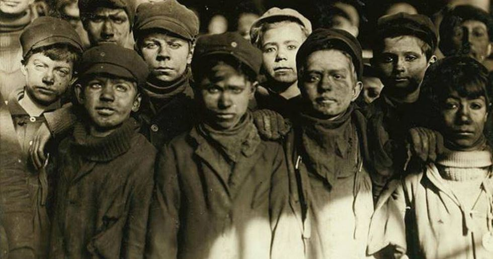 15 haunting photos from the early 1900s that helped end child labor in America.