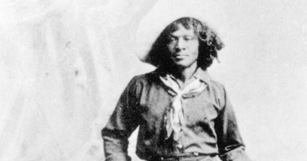 Twitter troll learns about the history of black cowboys the hard way.