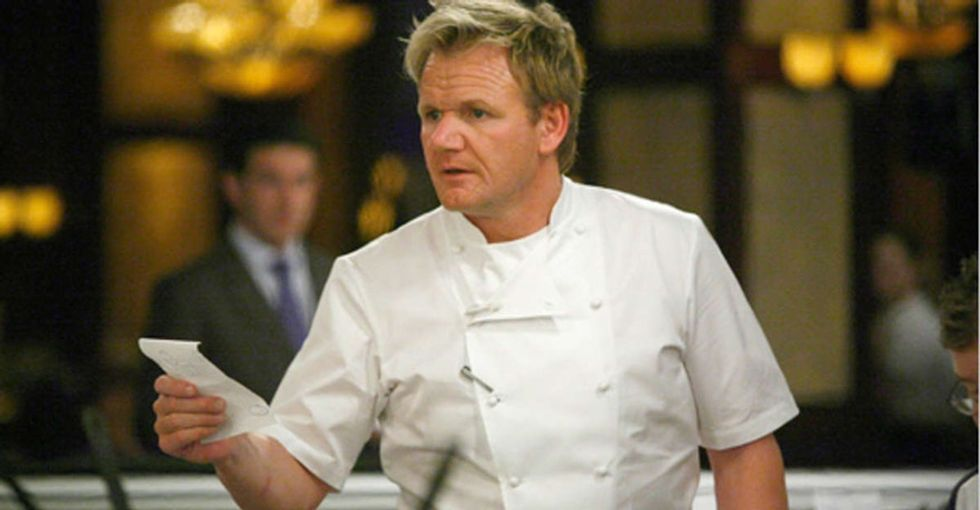 Gordon Ramsay's unexpected advice to a struggling cock is a must read.