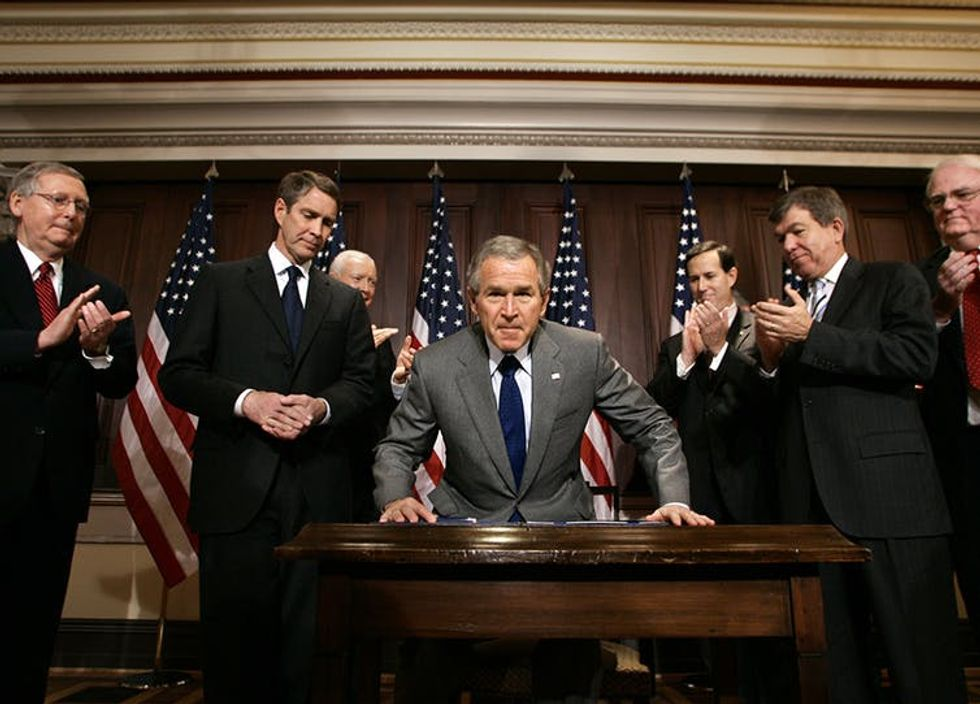 Gunmakers Get Special Economic Protection –And They Have George W. Bush To Thank For It