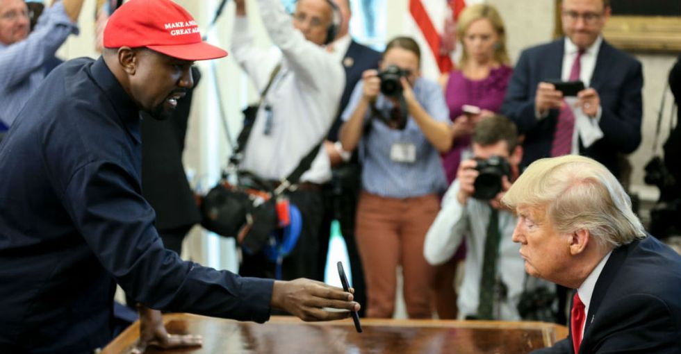 Trump's meeting with Kanye West was a national embarrassment. But here's why it still may have been worth it.
