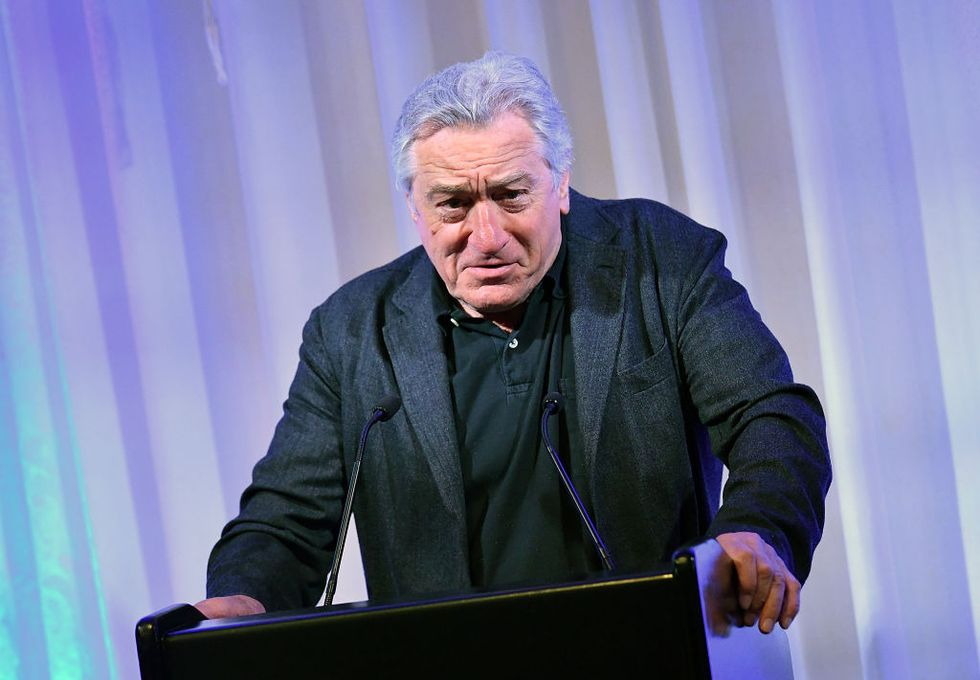 Robert DeNiro has the perfect response after a pipe bomb was mailed to his office.