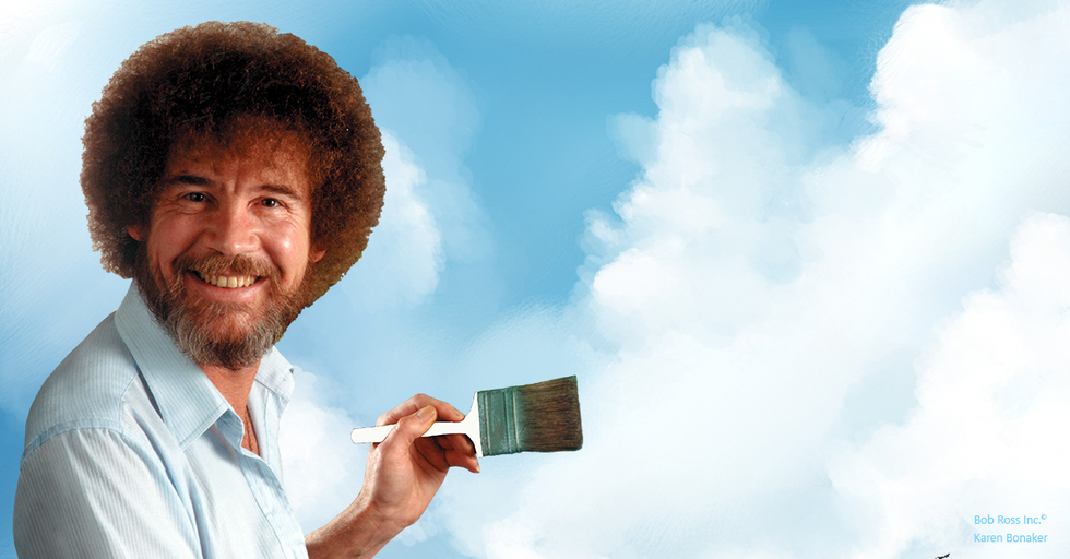 Happy Little Clouds: The ultimate Bob Ross remix.
