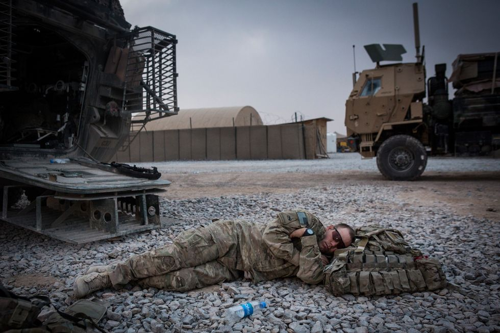 Here's a military trick that can help you fall asleep in 2 minutes.