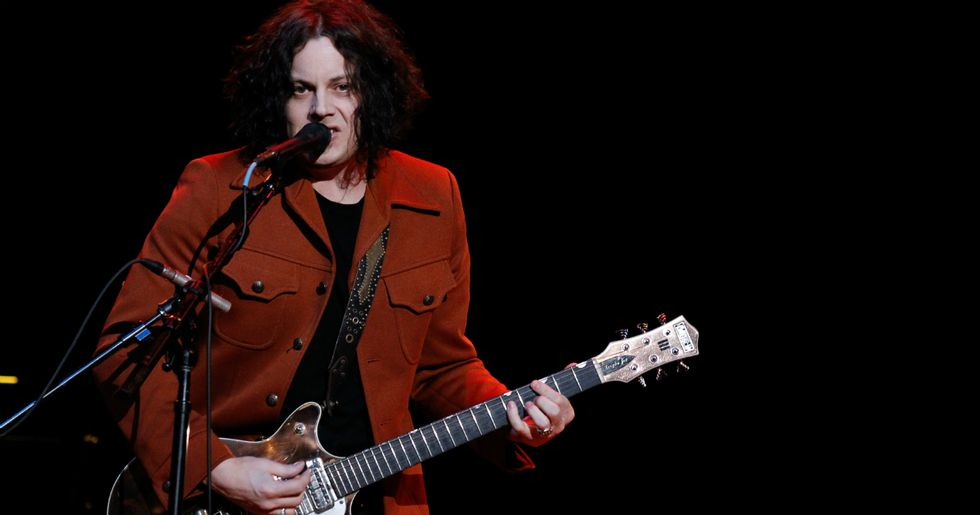 Jack White shuts down homophobe who kicked a lesbian couple out of his show.