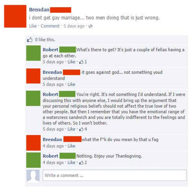 A Guy Started Trolling His Friend For Saying Stupid Stuff On Facebook But Who Is Really The Jerk Here Good
