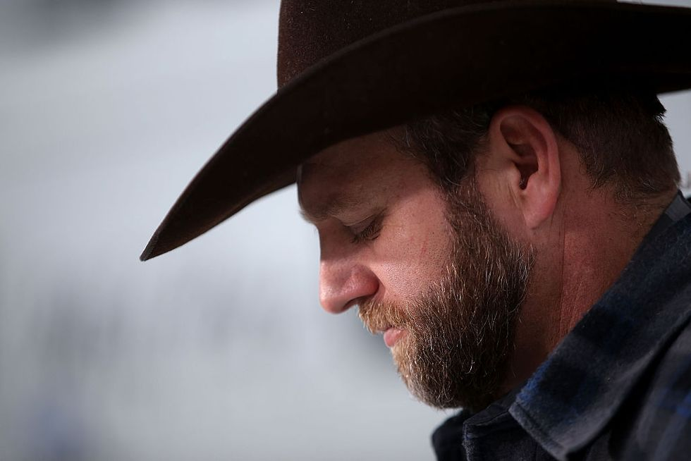 Infamous militia leader Ammon Bundy just made a surprisingly great point about Trump's immigration rhetoric.