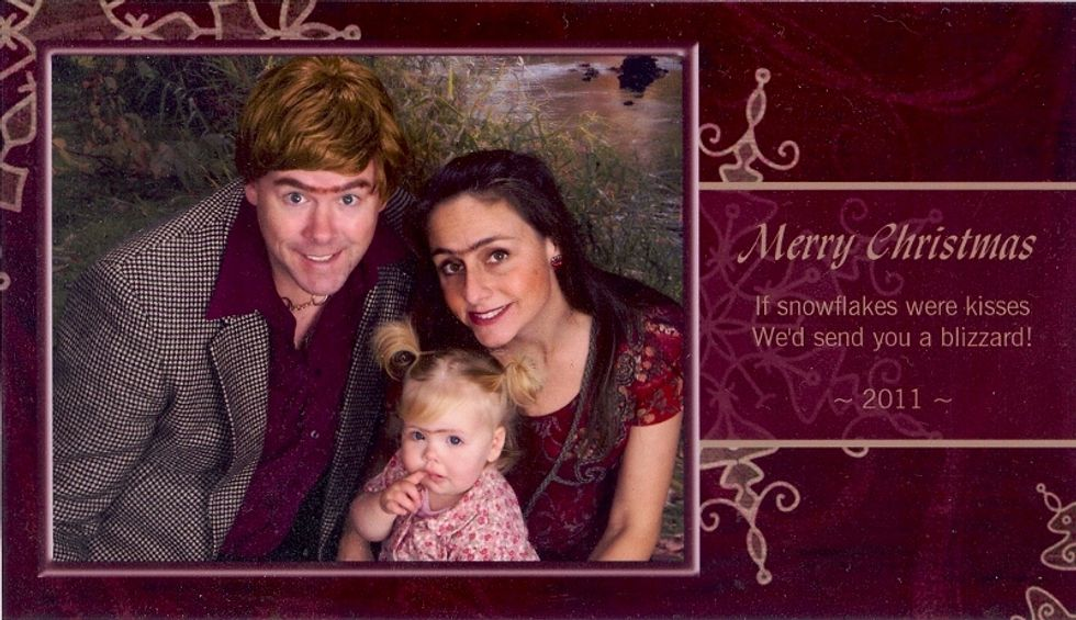 This family has been sending out the funniest holiday cards for 15 years straight.