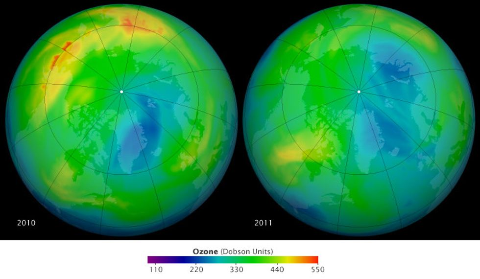 Breathe easy, because the hole in the ozone is nearly fully healed.