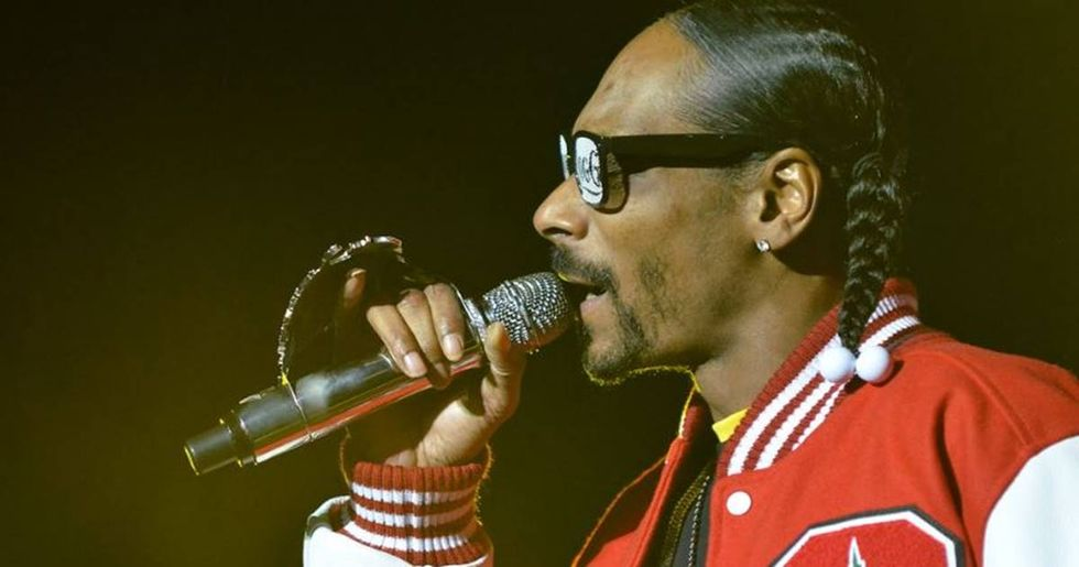 After distressing footage of a dog named Snoop being abandoned went viral, Snoop Dogg offered to adopt the pooch.
