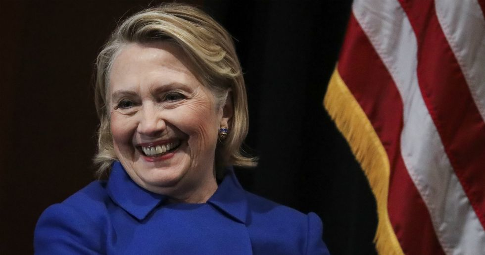 Hillary Clinton just tweeted the best 'told you so' in Twitter history.
