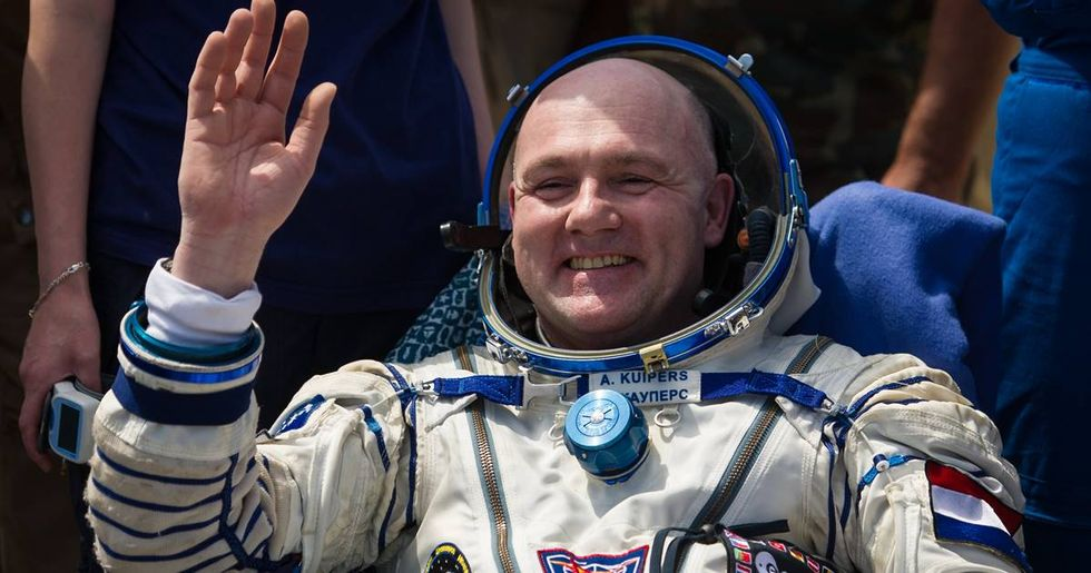 An astronaut accidentally dialed 911 from space and Houston had a problem.