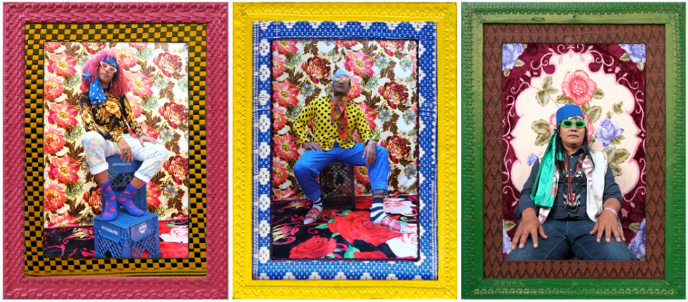 Artist Hassan Hajjaj creates portraits to support LA's Skid Row.