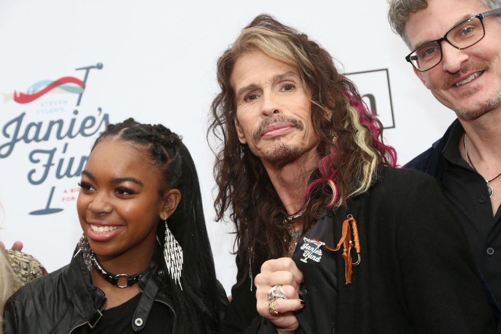 Aerosmith singer Steven Tyler just opened a home for abused and neglected girls.