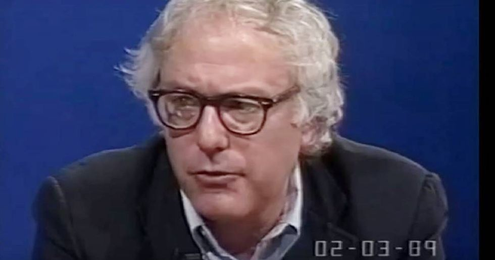 Recently discovered footage shows Bernie's been warning us about ecological disaster since before it was cool.