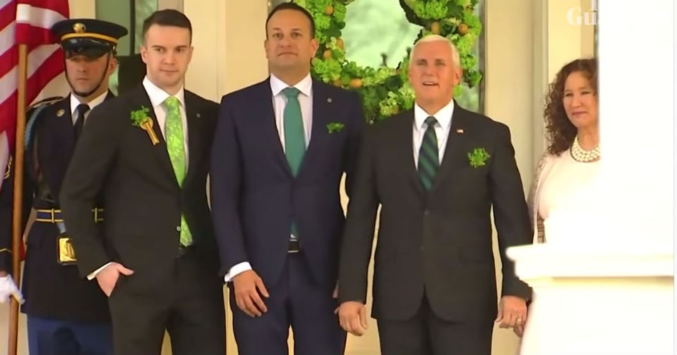 Ireland's gay prime minister just beautifully called out Mike Pence's homophobia to his face.