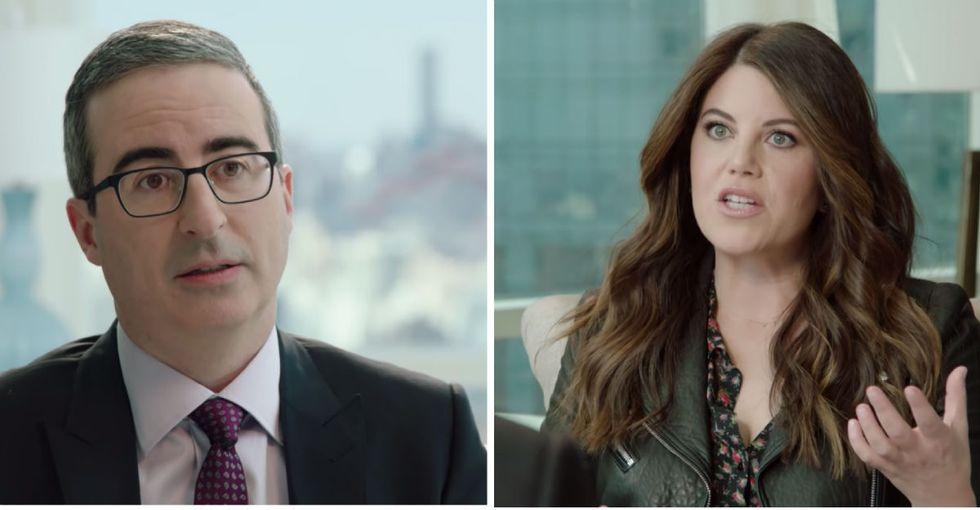 John Oliver got real about his mistakes in publicly shaming Monica Lewinsky.