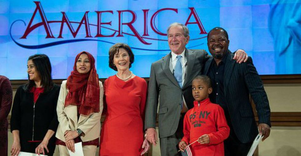 George W. Bush just gave an incredible speech about the importance of immigration.