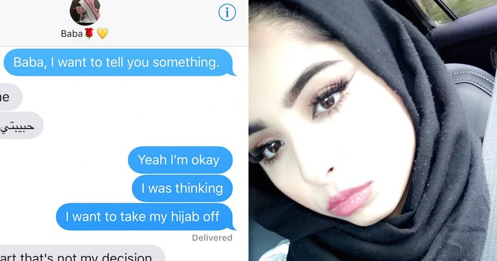 Muslim dad's response to his daughter wanting to remove her hijab goes viral.