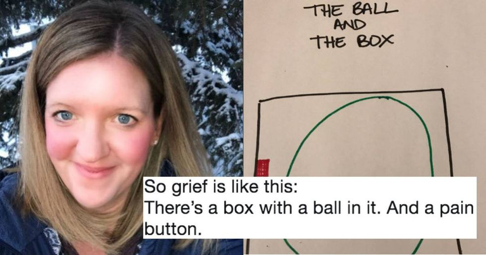 Woman's viral thread perfectly breaks down how grieving feels over time.