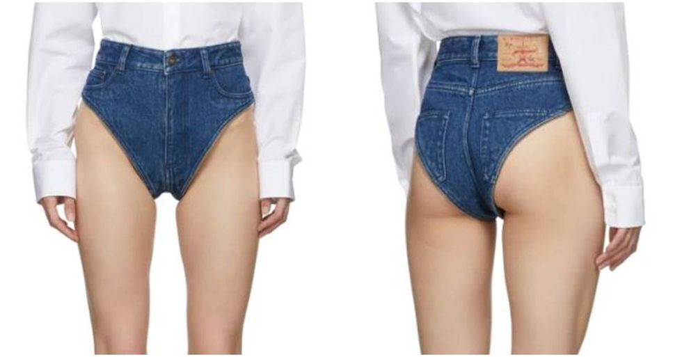 A fashion line just introduced $315 jean panties and people aren't having it.