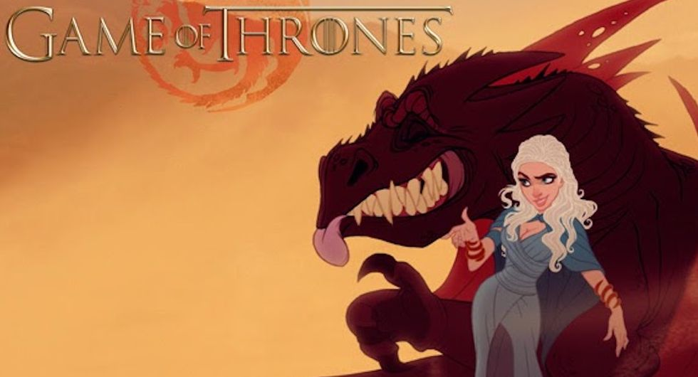 What 11 'Game of Thrones' characters would look like if Disney had created them.