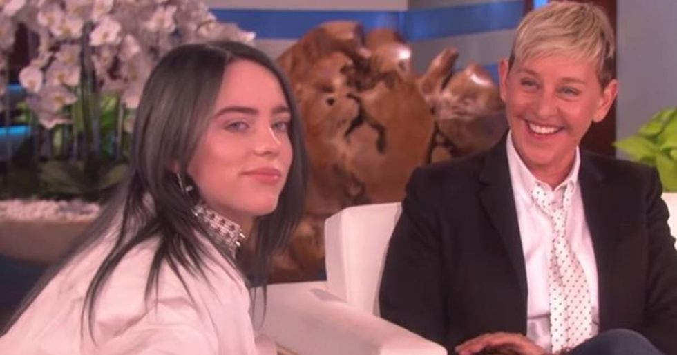 Billie Eilish opened up to Ellen DeGeneres about living with Tourette syndrome.