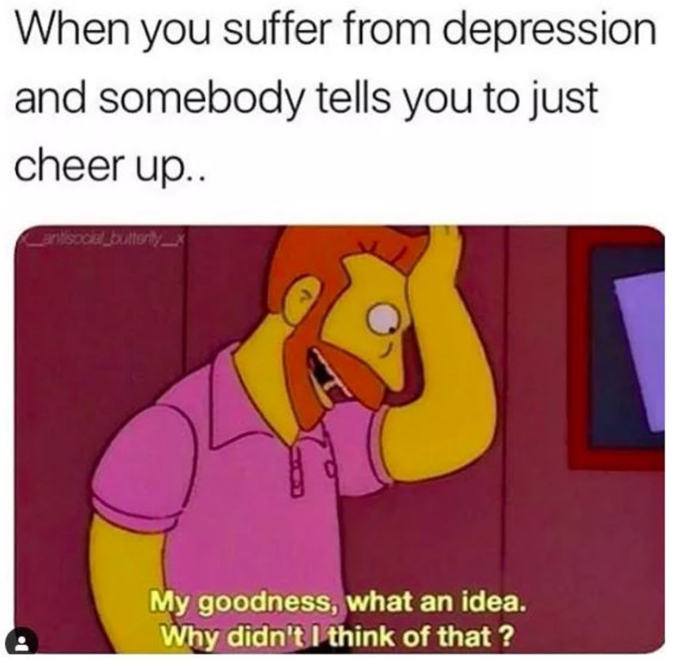 40 Memes That Might Make You Laugh If You Have Crushing Depression Good