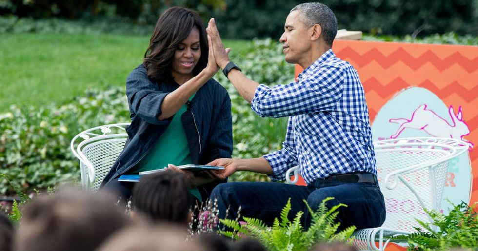 Michelle Obama is a surprise textbook example of how women thrive and grow throughadulthood.