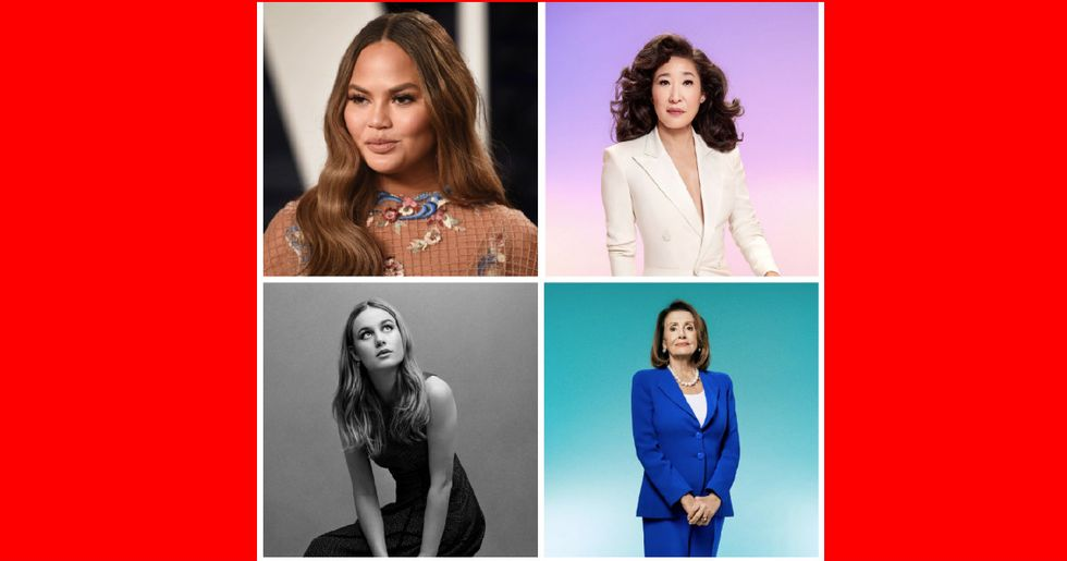 Nearly half of Time Magazine's 100 Most Influential People are women.