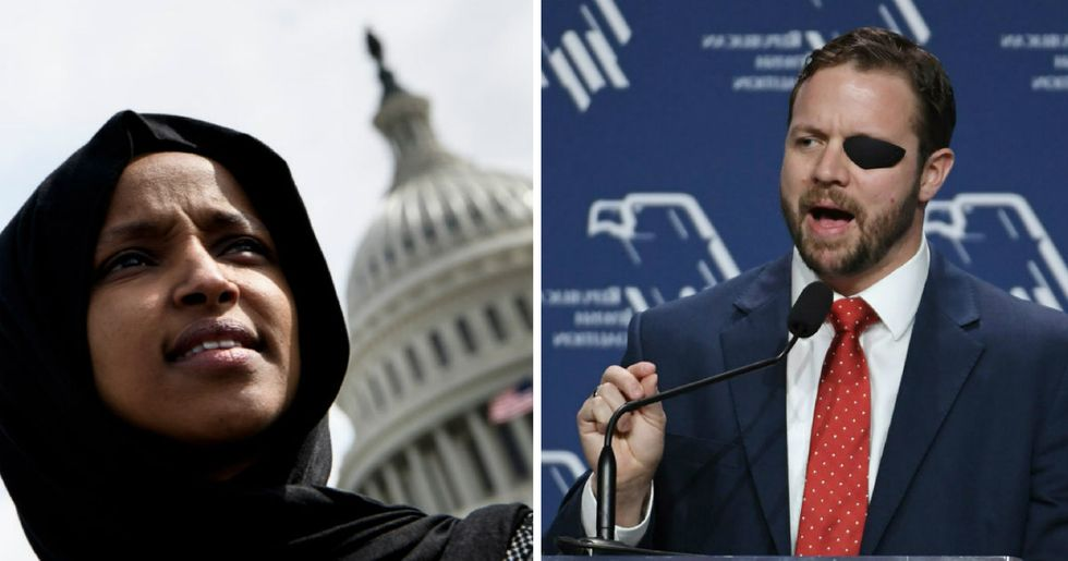 Republican who attacked Ilhan Omar said he was 'too busy' to speak with 9/11 survivor.