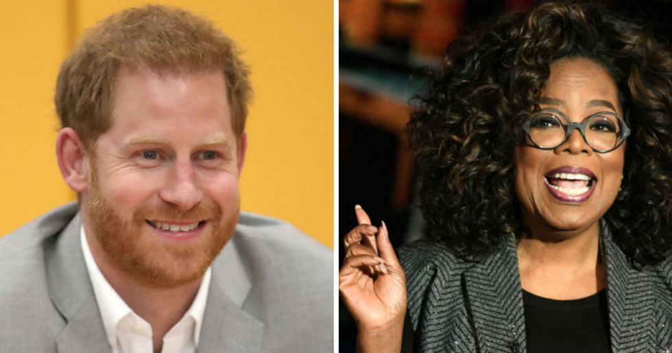 Prince Harry and Oprah Winfrey are joining forces on a new documentary series about mental health and well-being.