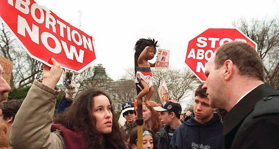 This man shuts down the most popular anti-abortion stance with one simple question.
