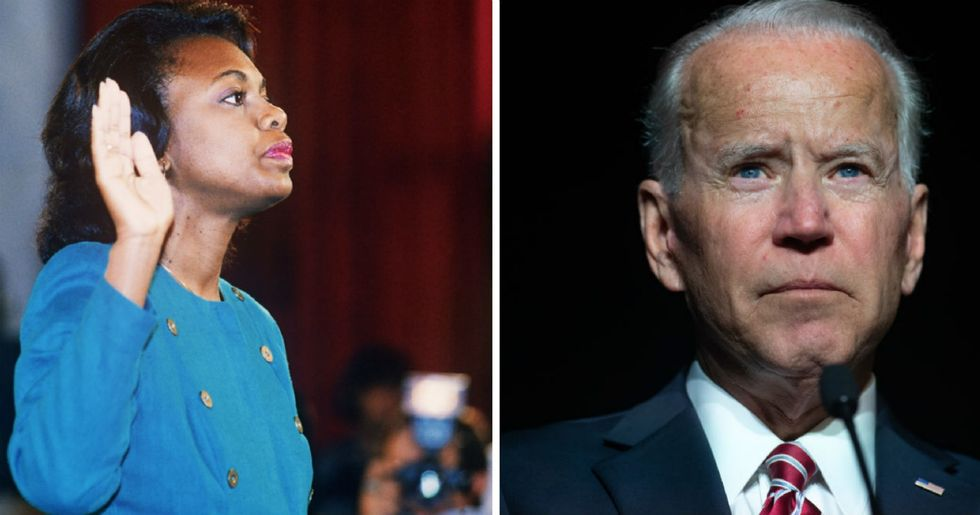 Anita Hill got an apology from Joe Biden, now she wants America to get one, too.