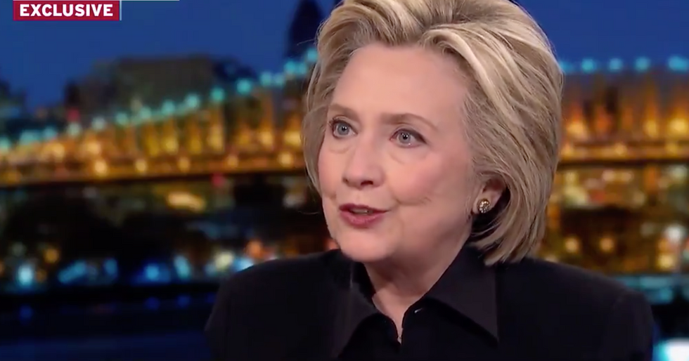 Hillary Clinton mocked Trump while making an important point about double standards.