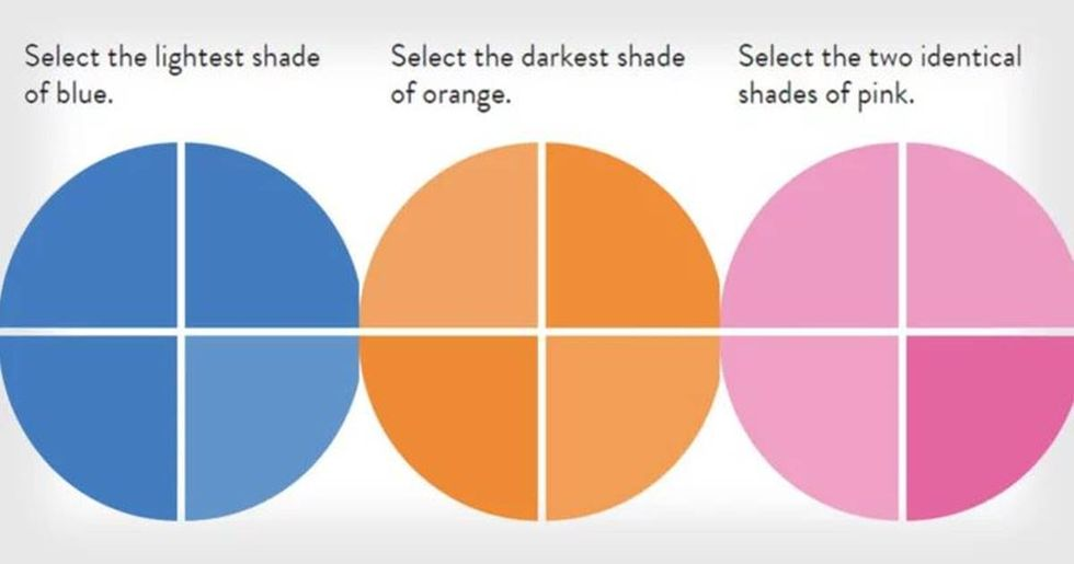 Ultra-difficult color test is so hard only 1% of people can get a perfect score.