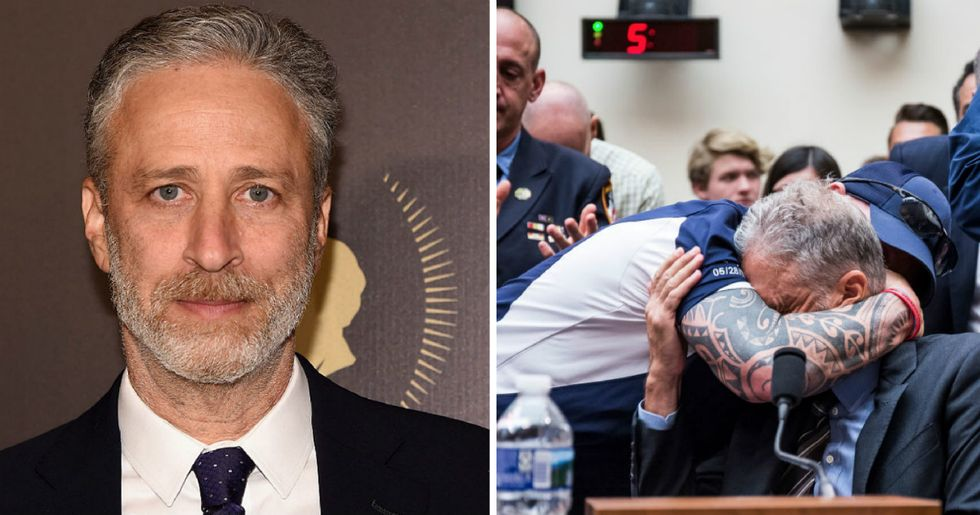 Congress finally just fully funded the 9/11 Victim Compensation Fund. Thank you, Jon Stewart.